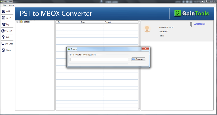pst to mbox converter, pst file to mbox converter, export pst file to mbox, pst to mbox conversion, outlook to mbox, export emails from pst into mbox, pst mailbox to mbox converter